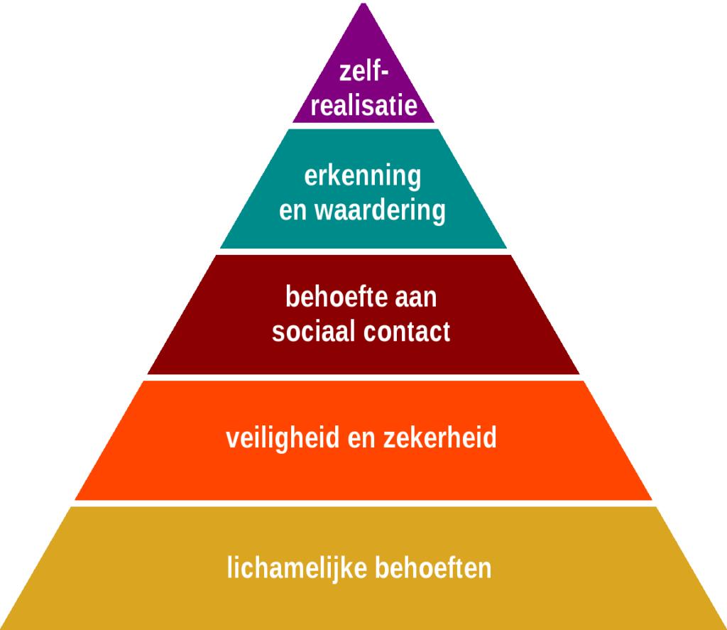 Piramide van Maslov next generation Marko de Jong Coaching